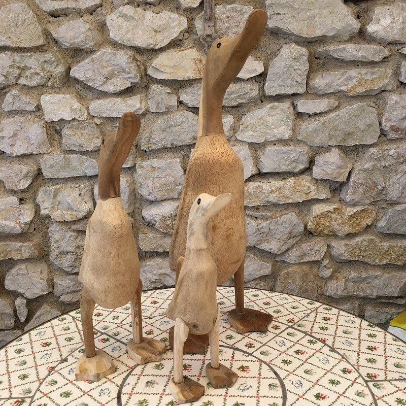 Mrs Goose, Bamboo and teak, Large Size