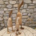 Mrs Goose, Bamboo and teak, Medium Size