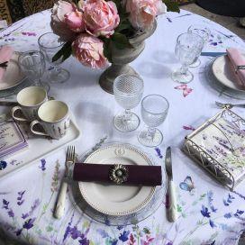 """Tessitura Toscana Tellerie, rectangular linen tablecloth """"Spigo"""""""
