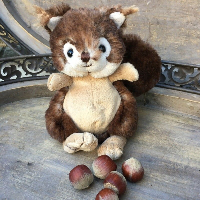 Peluches Bukowski - L'écureuil brun Brunis