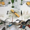 "Tessitura Toscana Telerie, rectangular linen tablecloth ""Barnum"""