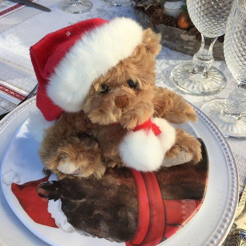 Barbara Bukowski  Brown Teddy bear Baby Tomtenisse
