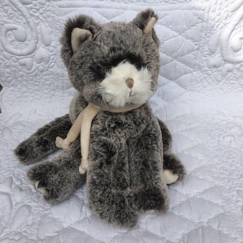 Peluches Bukowski - Chat Kitty gris