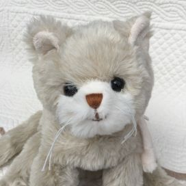 Peluches Bukowski - Chat Catty beige