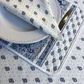 "Cotton table napkins ""Bastide"" white Marat d'Avignon"