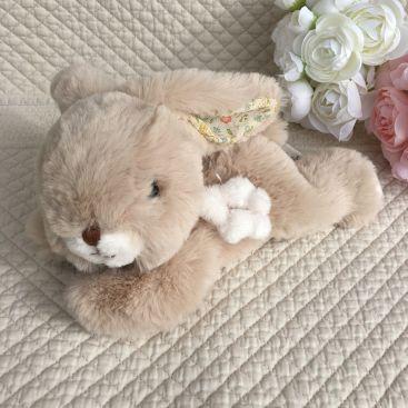 Barbara Bukowski - Fluffy rabbit ROCCO beige