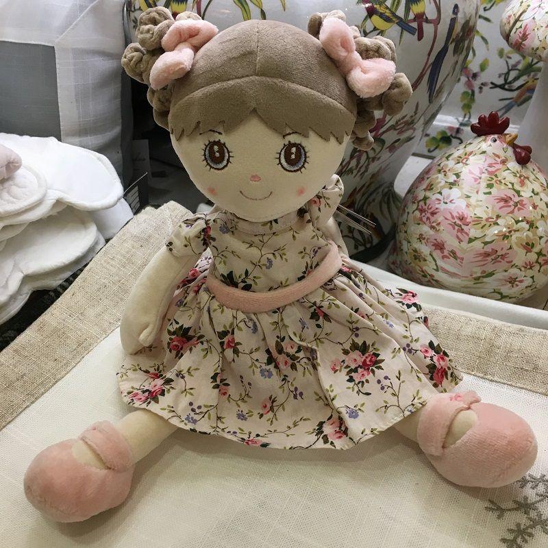 Peluches Bukowski - Poupée Lovely Ninka robe rose