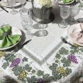 "Jacquard webbed tablecloth  grapes ""Vignobles"" TISSUS TOSELLI, Nice"