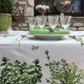 "Rectangular coated cotton tablecloth ""Eneldo"""