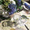 "Tessitura Toscana Telerie, nappe rectangulaire en lin ""Ibisco"""