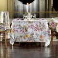 "Tessitura Toscana Telerie, nappe rectangulaire en lin  ""Semiramide"""