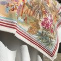 """Jacquard webbed tablecloth  """"Nice"""", TISSUS TOSELLI, Nice"""