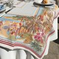 "Nappe Jacquard ""Nice"", Tissus Toselli"