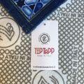 """Tapis Tiptap """"Poisson Bleu"""" Tessitura Toscana Telerie"""
