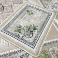 "Provence Jacquard placemat ""Riviera"" from Tissus Toselli in Nice"