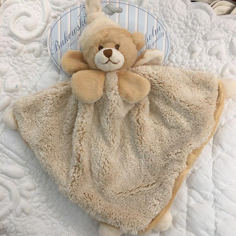 """Barbara Bukowski - Bear """"Viggo et Maria"""" beige Baby Rug"""