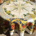 "Tessitura Toscana Telerie, rectangular linen tablecloth ""Borea"""