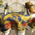 """Tessitura Toscana Telerie, nappe rectangulaire en lin  """"Borea"""""""