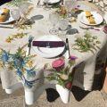"""Tessitura Toscana Telerie, nappe rectangulaire en lin """"Cynar"""""""