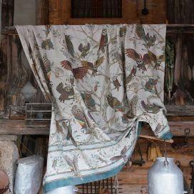 Grand Foulard - Mezzeri - BUBO - Tessitura Toscana Telerie