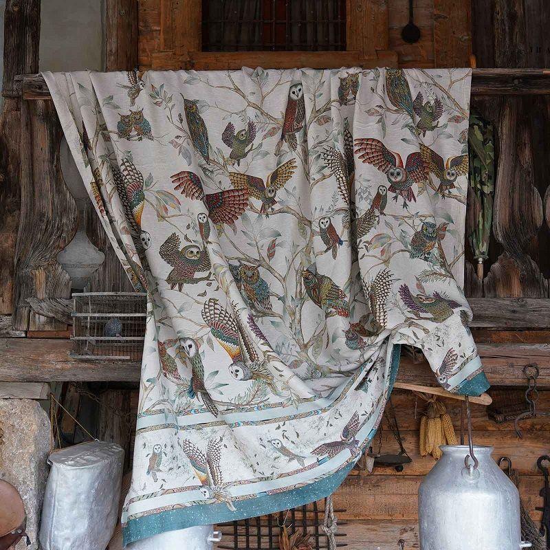 MEZZERI  BUBO - Decorative Cloths  TESSITURA TOSCANA TELERIE
