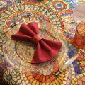 "Tessitura Toscana Tellerie, rectangular coton tablecloth ""Monreale"""