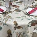 "Tessitura Toscana Tellerie, rectangular linen tablecloth ""Bubu"""