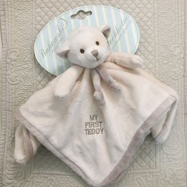 "Barbara Bukowski - Teddy ""My first Teddy"" ecru and beige Baby Rug"