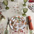 "Michel Design Works - ""Holidays Treats"" Melamine Casual dinner plate"
