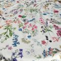 """Round coated cotton tablecloth """"Fortuna"""""""