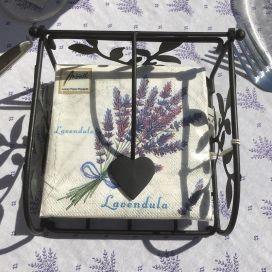 """Paper napkins """"Bouquet de Lavande"""""""