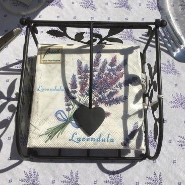 """Serviettes en papier """"Bouquet de Lavande"""""""