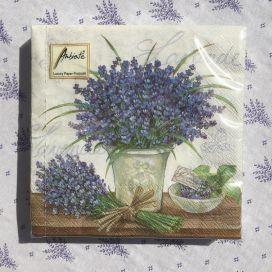 """Serviettes en papier """"La Côte d'Azur"""""""