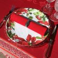 "Michel Design Works, assiette en mélamine ""Poinsettia"""