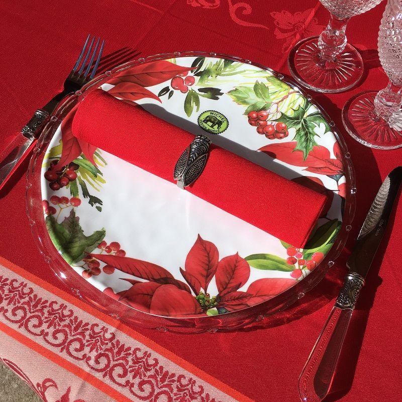 """Michel Design Works, assiette en mélamine """"Holidays Treats"""""""