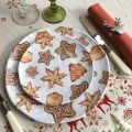 "Michel Design Works, lot de 4 petites assiettes ""Holidays Treats"""