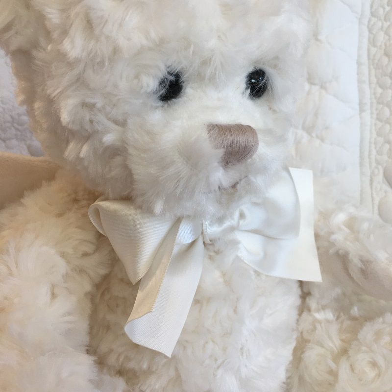 "Barbara Bukowski - Teddy bear ""Janusz"" My Guardian Angel"