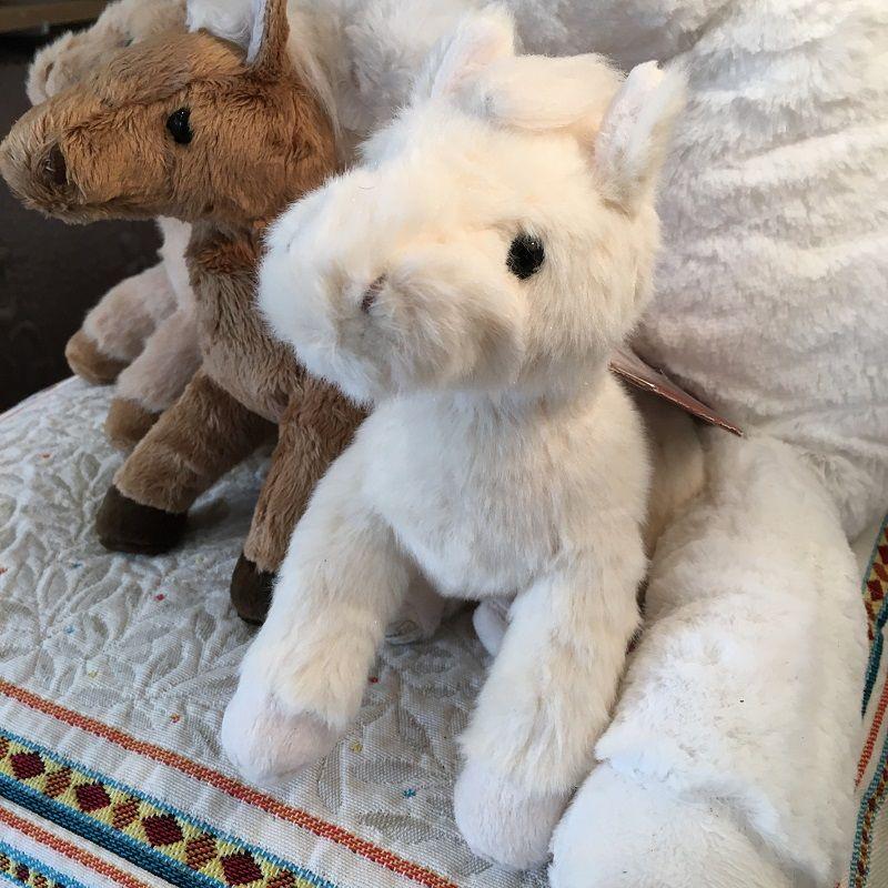 "Barbara Bukowski - Horse ""Baby Sugar"" white"
