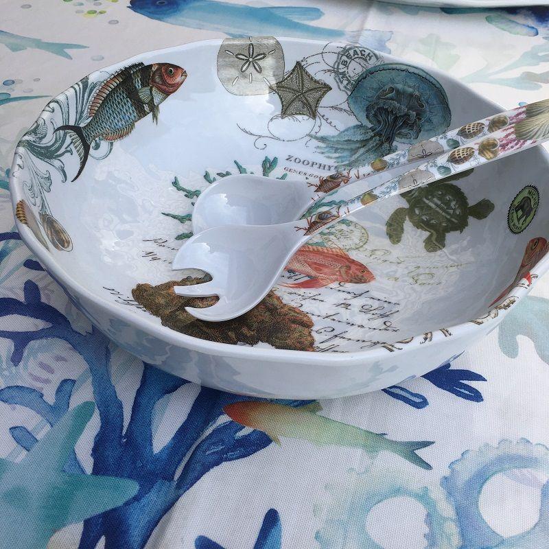"""Michel Design Works - """"See Life"""" melamine Bistro Bowl"""