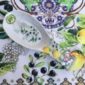 """Michel Design Works, spoon rest """"Tuscan Grove"""""""