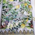 "Michel Design Works  ""Tuscan Grove"" Melanine ovale platter"