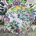 "Michel Design Works - ""TUSCAN GROVE"" Melamine Casual dinner plate"