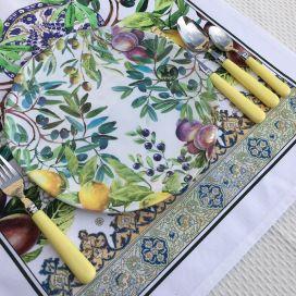 "Michel Design Works, assiette ""Tuscan Grove"""