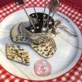 Set de 6 piques à apéritifs, souris sur fromage