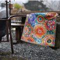 "Tiptap rug ""Monreale"" by Tessitura Toscana Telerie"