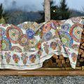 "Mezzero ""Monreale"" Decorative Cloths by Tessitura Toscana Telerie"