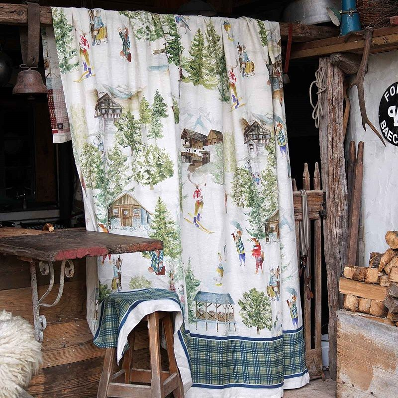 "Mezzero ""Funes"" Decorative Cloths by Tessitura Toscana Telerie"