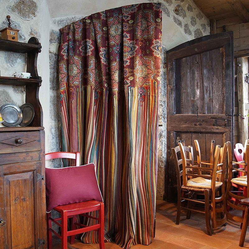 "Mezzero ""Jaipur"" Decorative Cloths by Tessitura Toscana Telerie"