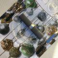 "Tessitura Toscana Telerie, chemin de table en lin ""Glitter"""