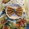 "Tessitura Toscana Telerie, linen table runner ""Borea"""